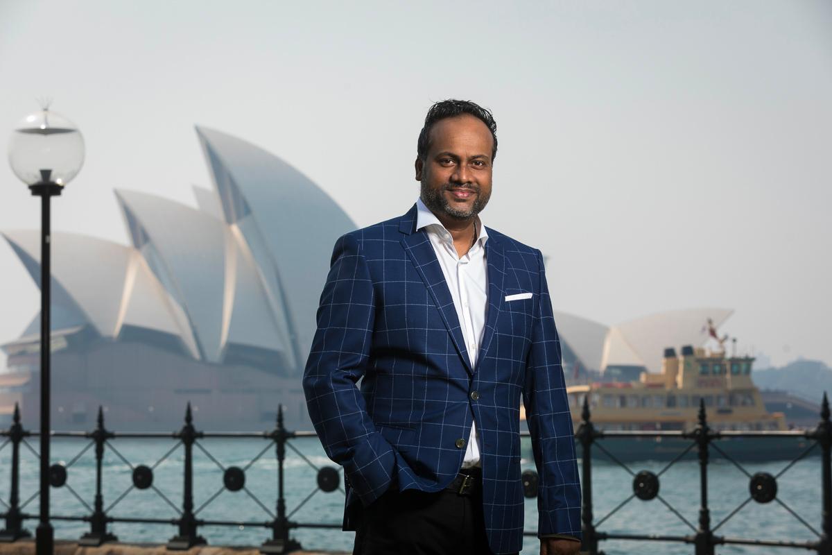 Arun Maharaj, CEO, HashChing