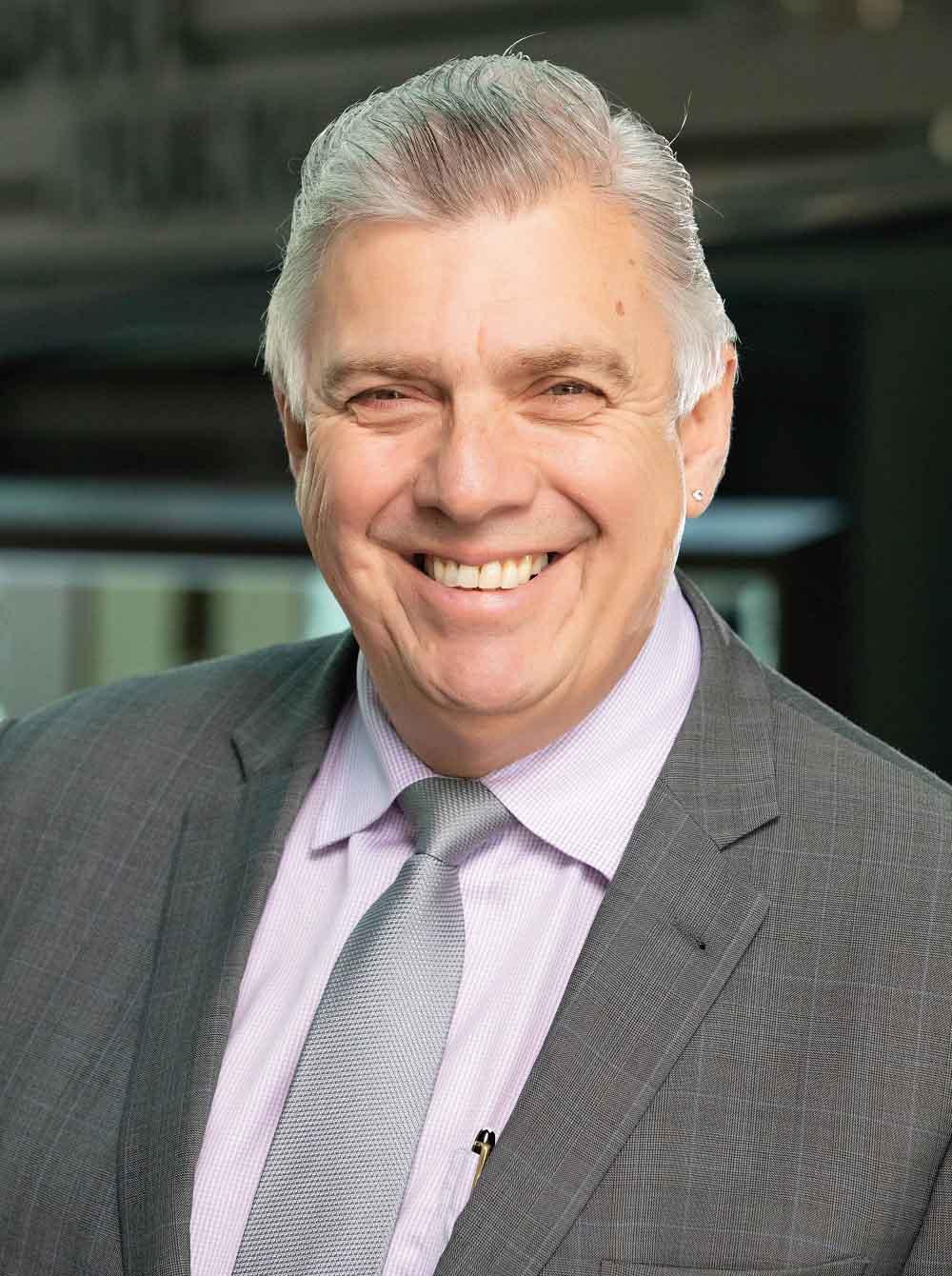 John Mohnacheff, group sales manager, Liberty