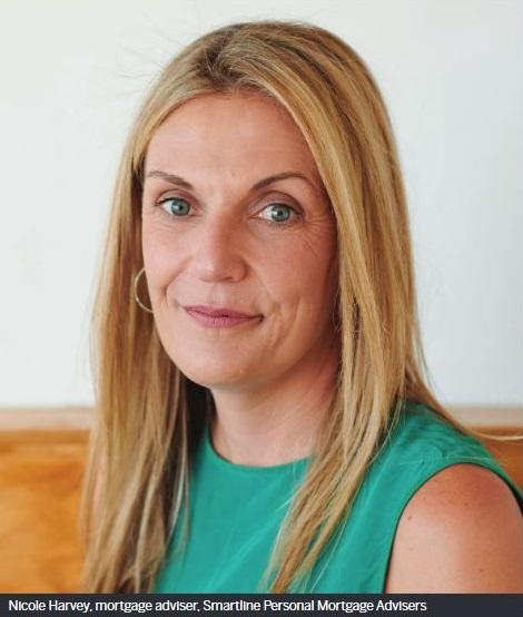Nicole Harvey, mortgage adviser, Smartline Personal Mortgage Advisers