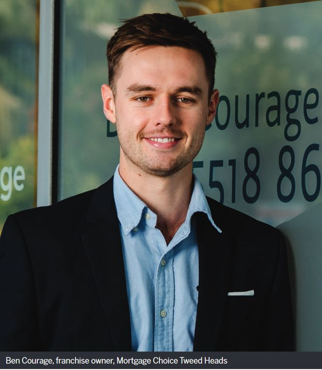 Ben Courage, franchise owner, Mortgage Choice Tweed Heads