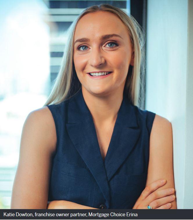 Katie Dowton, franchise owner partner, Mortgage Choice Erina