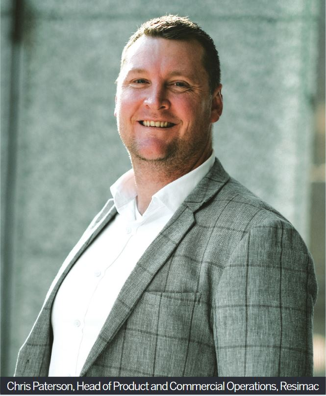 Chris Paterson, Head of Product and Commercial Operations, Resimac