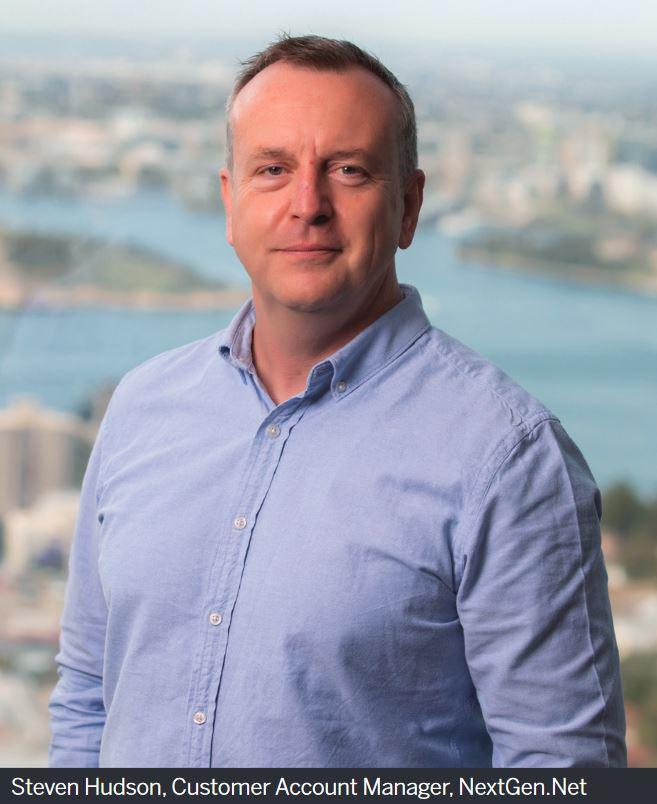 Steven Hudson, Customer Account Manager, NextGen.Net