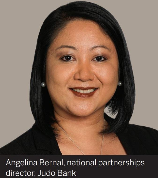 Angelina Bernal, national partnerships director, Judo Bank