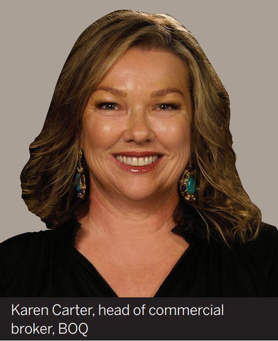 Karen Carter, head of commercial broker, BOQ