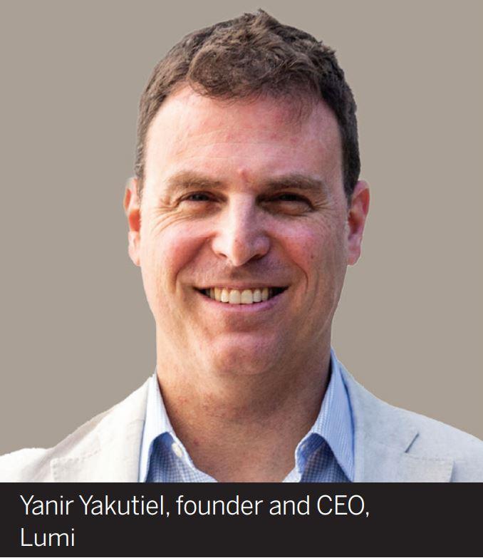 Yanir Yakutiel, founder and CEO, Lumi