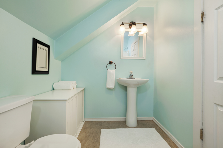 Here are some of the tricks you can do to make your small bathroom appear bigger than it actually is