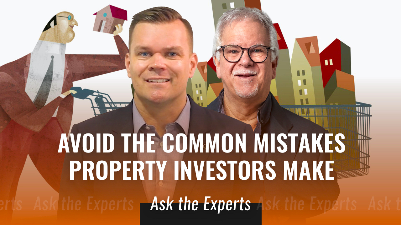 How to avoid the common mistakes property investors make
