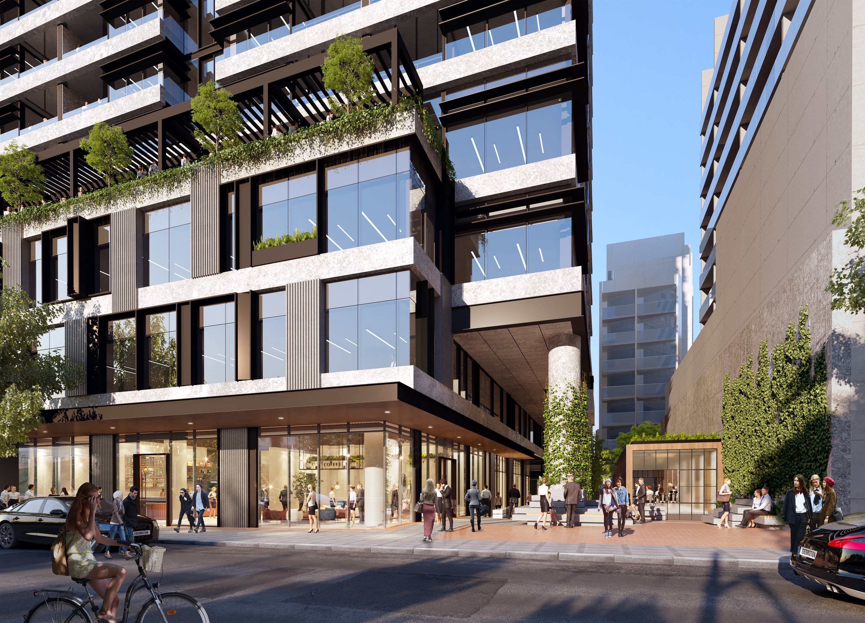 The approval will give rise to the construction of around 625 housing units in inner Melbourne's South Yarra.