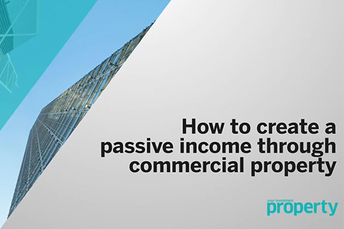 How to create passive property income