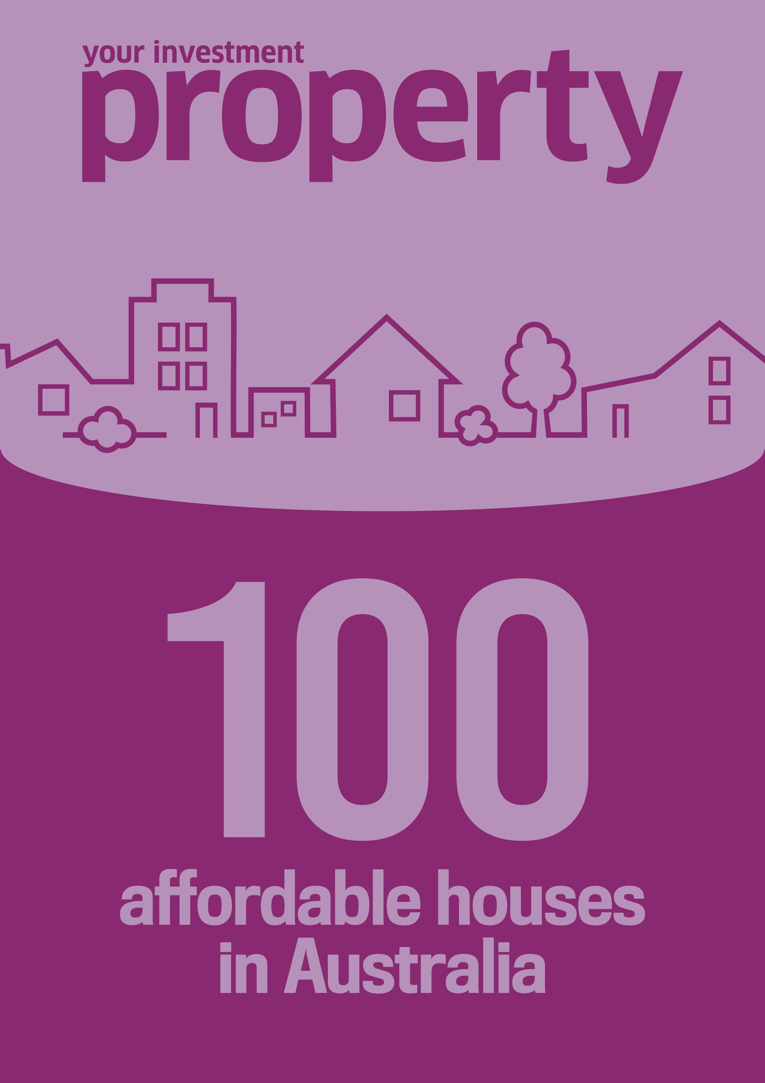 YIP 100 affordable houses near capital cities