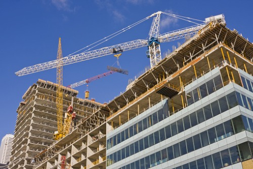 Revealed: Top spots for building activity