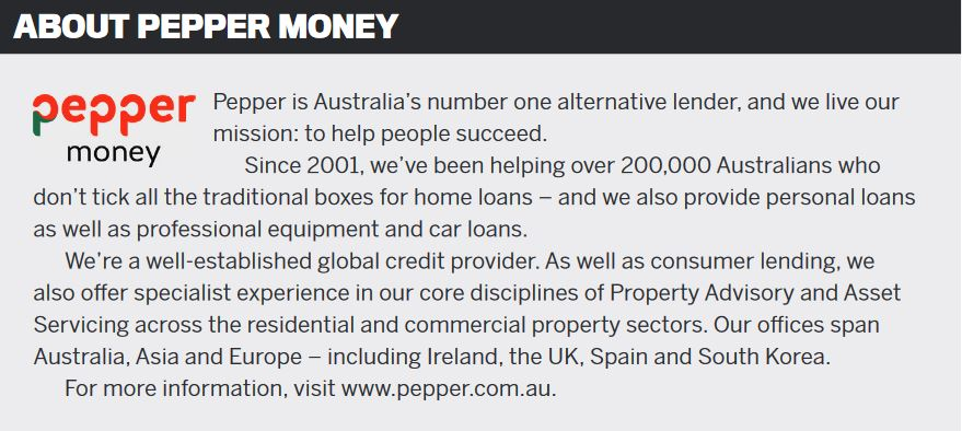 About Pepper Money