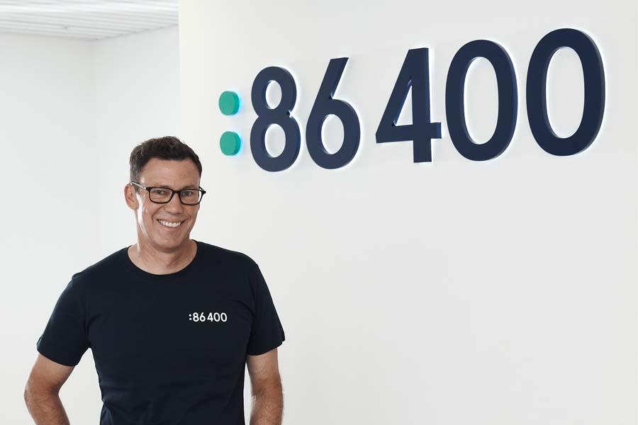 Robert Bell, CEO, 86 400