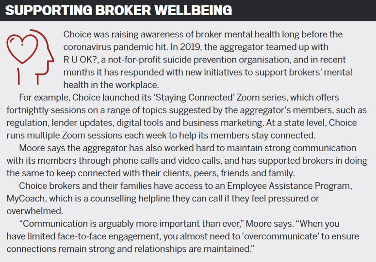 Supporting broker wellbeing