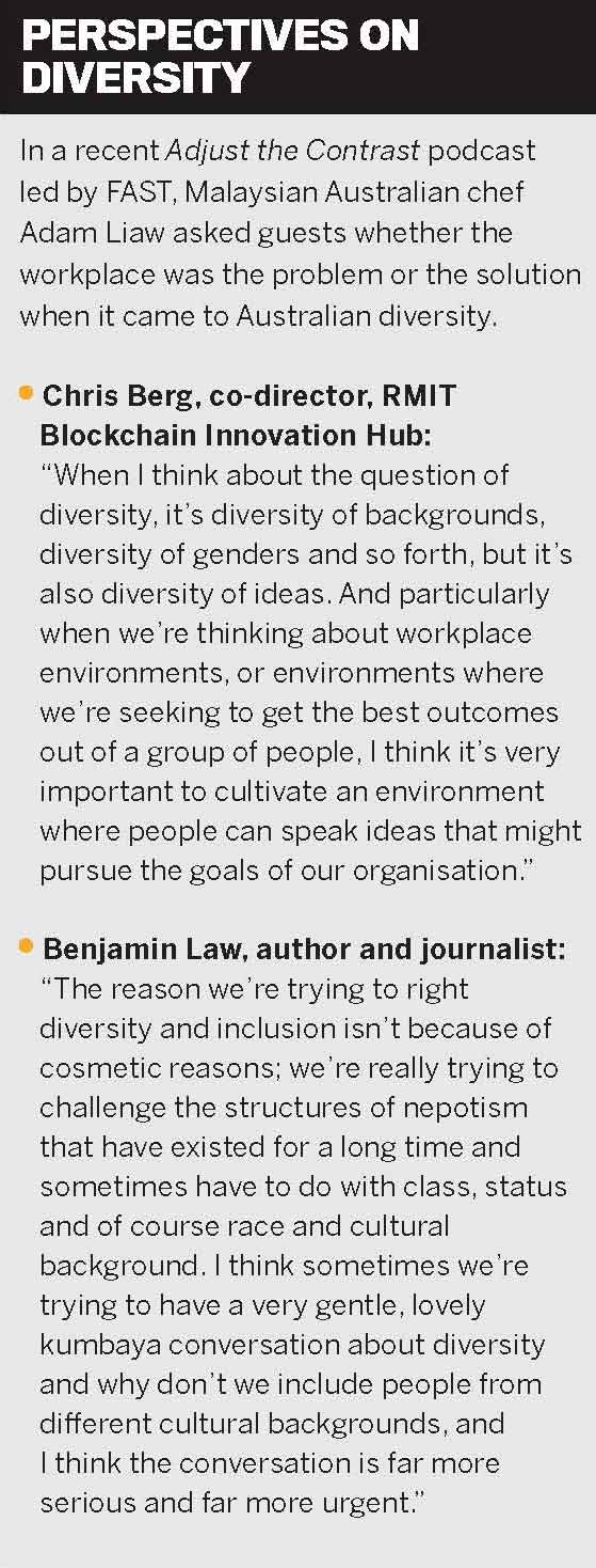 Perspectives on diversity