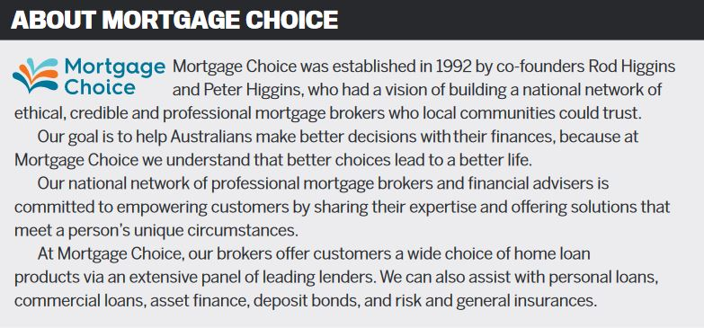 About Mortgage Choice