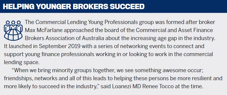Helping younger brokers succeed