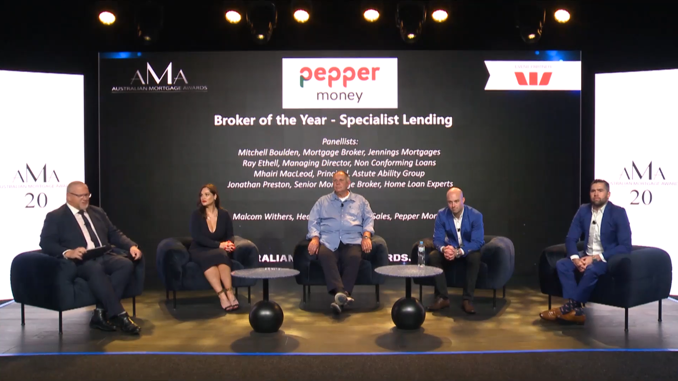 AMA's: Pepper Money Broker of the Year - Specialist Lending