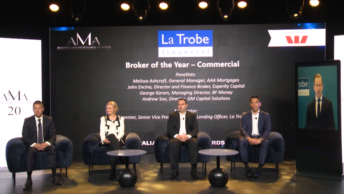 AMA's: La Trobe Financial Broker of the Year – Commercial