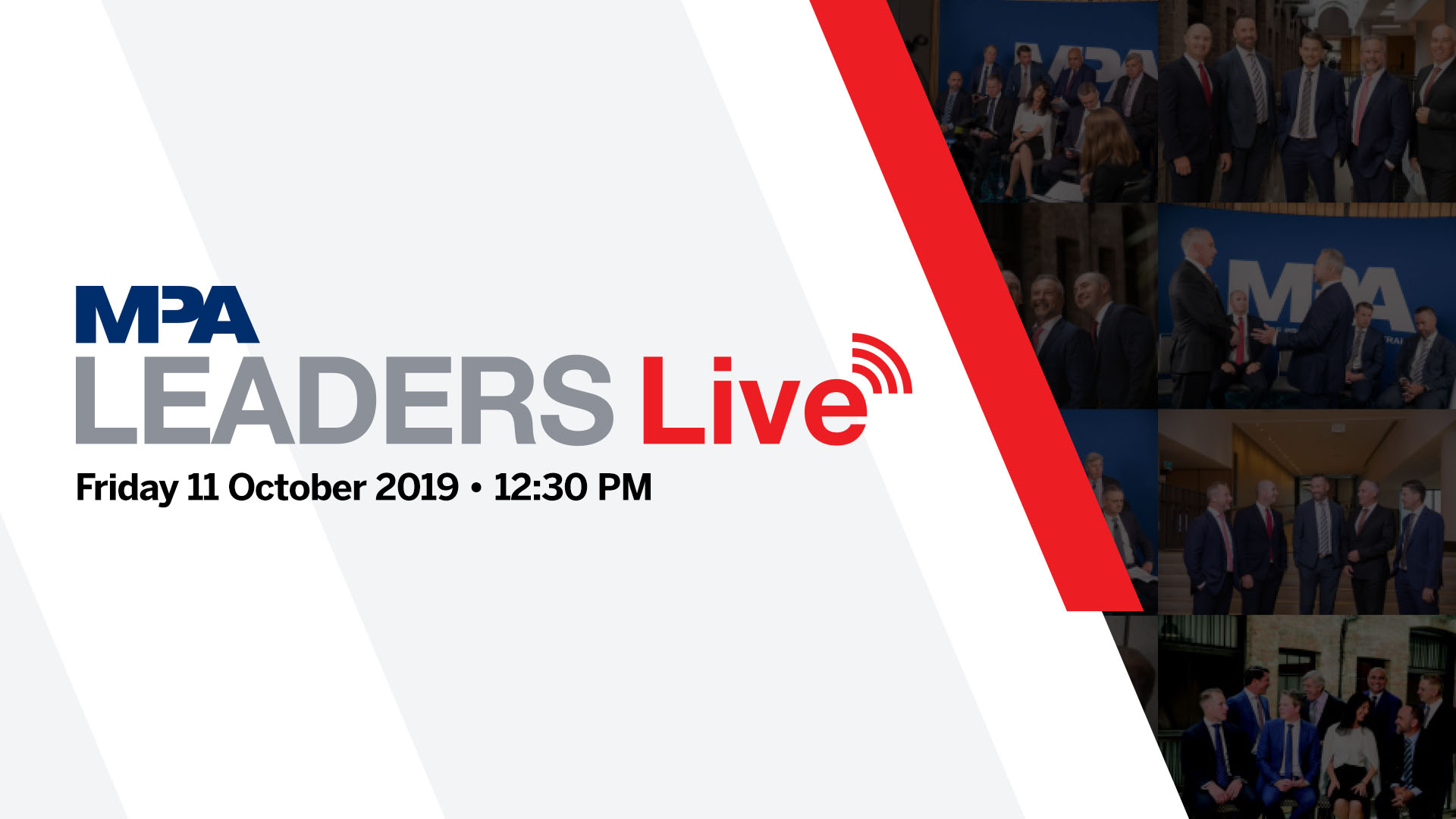 MPA Leaders Live: Major Banks Panel 2019
