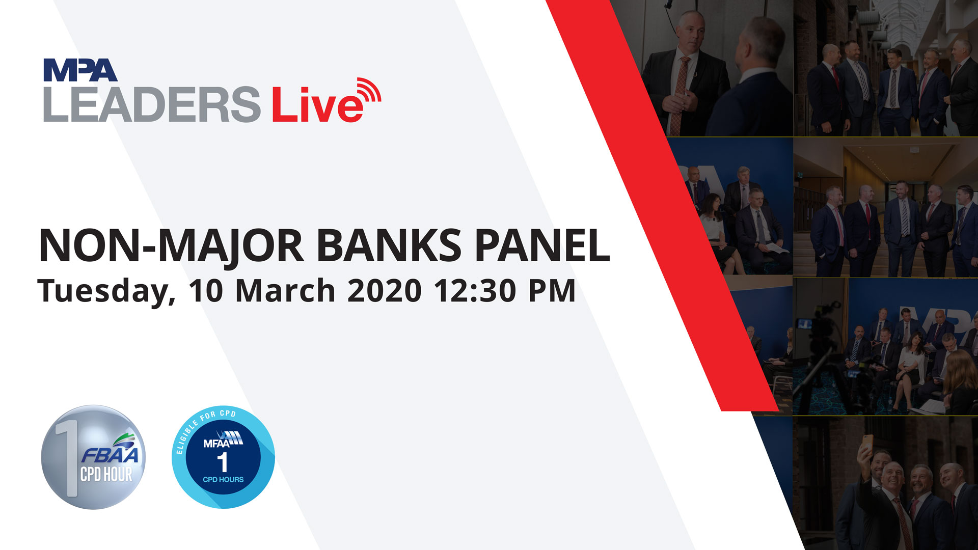 MPA Leaders Live: Non-Major Banks Panel 2020
