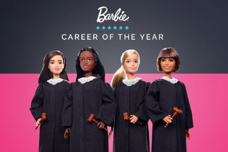 Barbie joins the bench