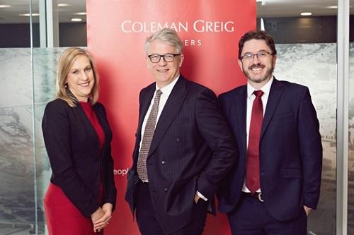 Coleman Greig integrates Argyle Lawyers