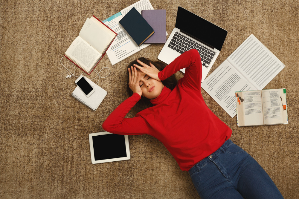 Five ways to help students stress less