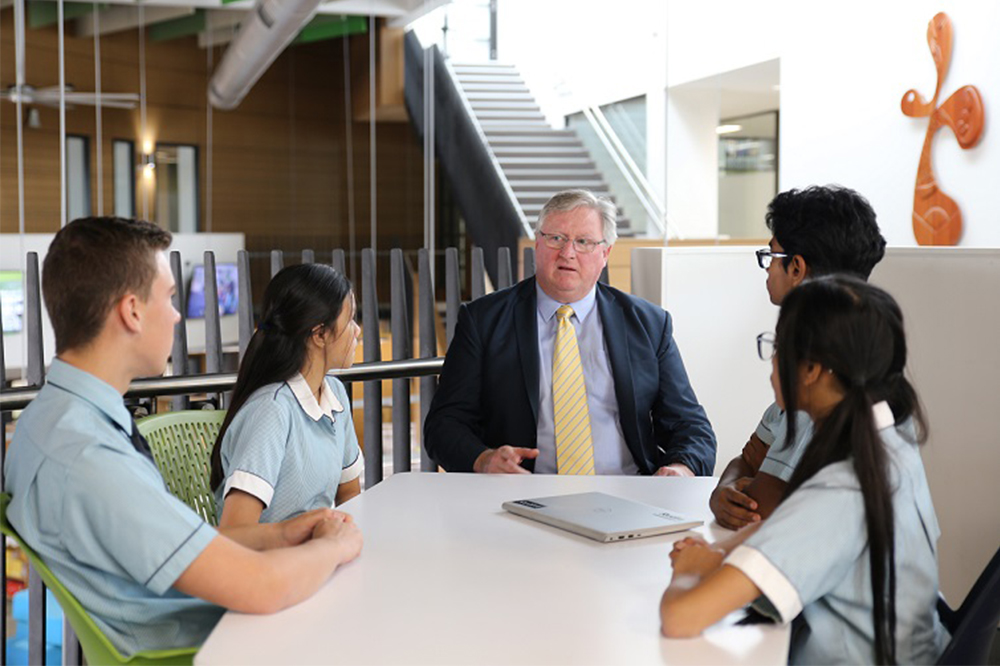 Exclusive: School's new dual credentialing model allows students to gain HSC and Diploma