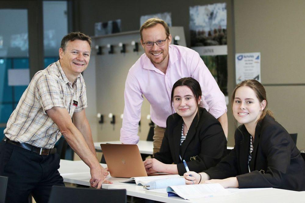 University partnership brings real-world STEM experience to classroom
