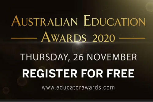 Introducing the virtual Australian Education Awards