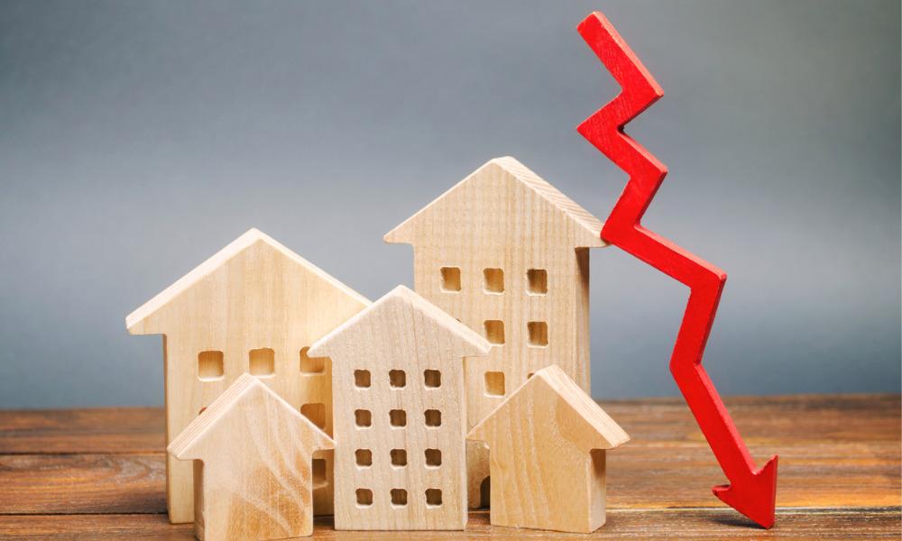 Dunedin house values continue to plummet