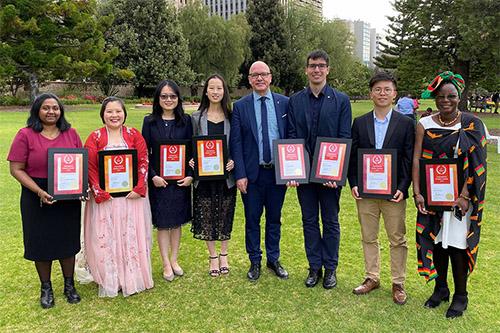 Flinders international students celebrated