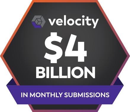 Velocity reaches $4 billion in monthly submissions