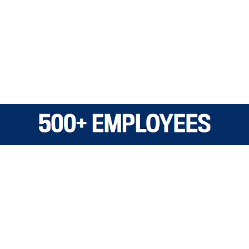 500+ EMPLOYEES