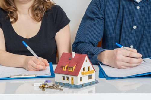 What should you do when a client asks to break a mortgage?