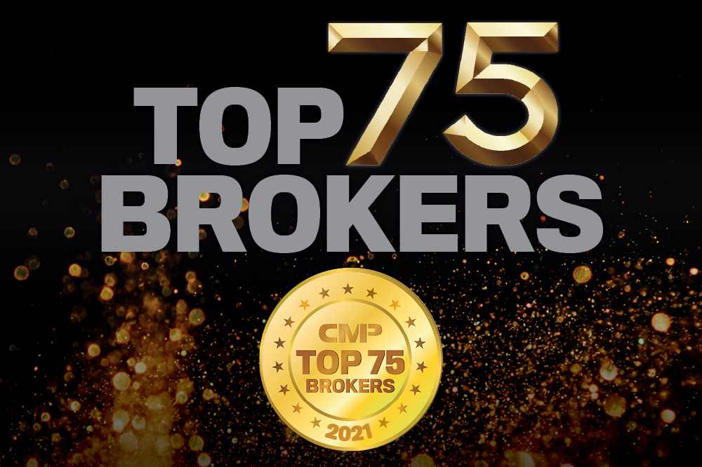 Top 75 Brokers 2021