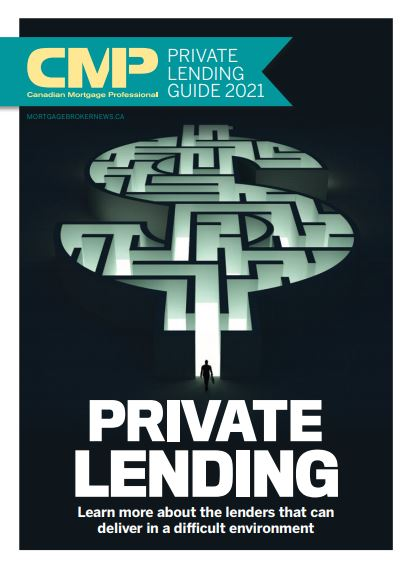 Canadian Mortgage Professional 16.03 - Private Lending Guide 2021