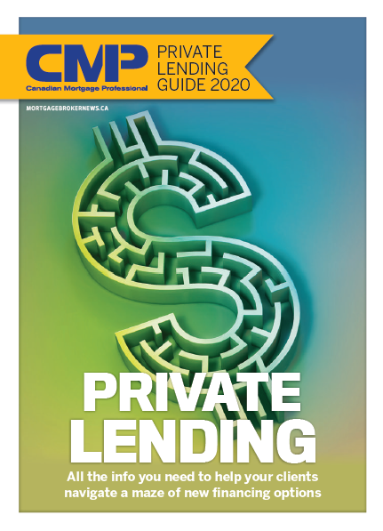 Canadian Mortgage Professional 15.11 - Private Lending Guide 2020