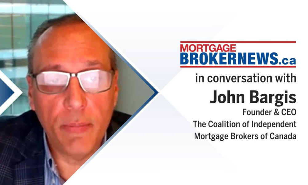 CIMBC's John Bargis on independent mortgage brokering in Canada
