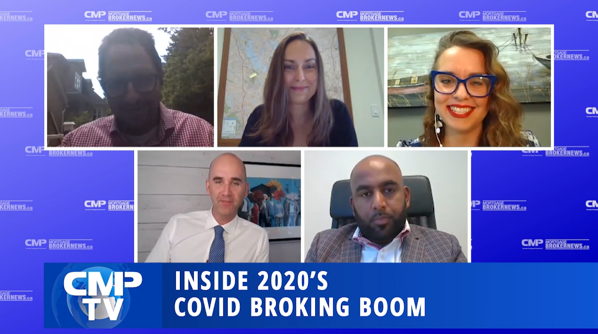 Looking at the COVID broking boom