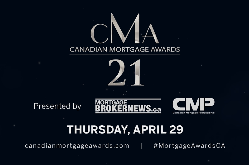 What to expect at the virtual Canadian Mortgage Awards 2021