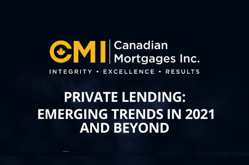 Private lending: emerging trends in 2021 and beyond