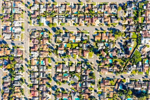 What's happening with house price growth in Canada?