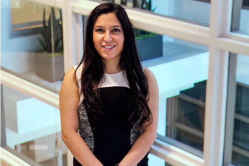 Thriving young advisor who marries people with process