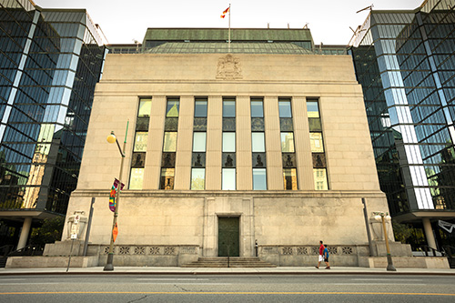 "Monetary conditions are ""about right"" says BoC governor"
