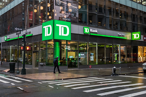 TD urges customers to stay at home during the COVID-19 outbreak