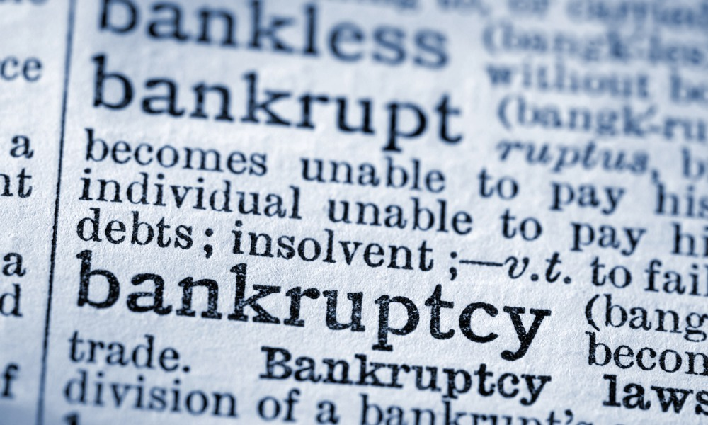 The law amendments for Canada's bankruptcy and insolvency laws this 2019