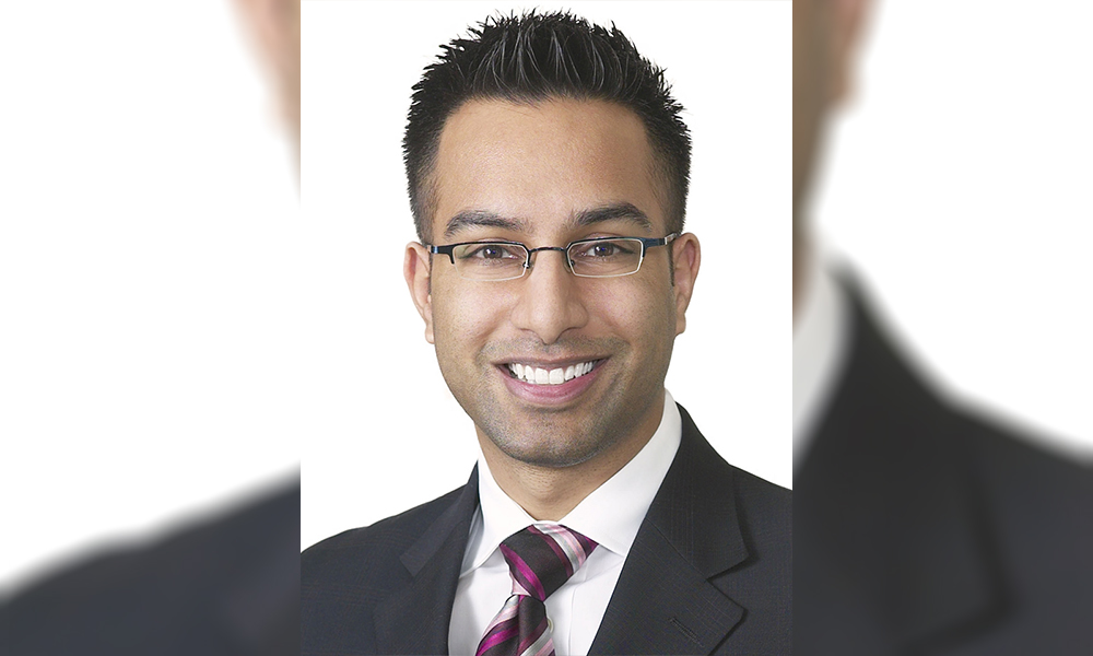 Ranjan Agarwal will become first South Asian lawyer to lead the OBA